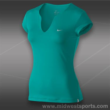 Nike Pure Tennis Top-Turbo Green