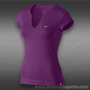 Nike Pure Tennis Top-Bright Grape