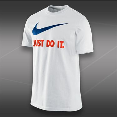 Nike New JDI Swoosh T-Shirt-White