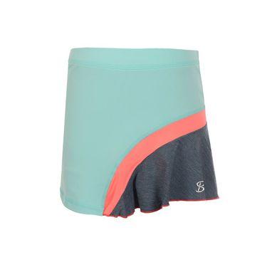 Sofibella Fiji Girls Rainbow Skirt - Frosted Aqua/Fiji Night