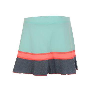 Sofibella Fiji Girls Ruffle Skirt - Frosted Aqua/Fiji Night