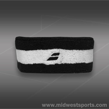 Babolat Reversible Headband -Black/Orange