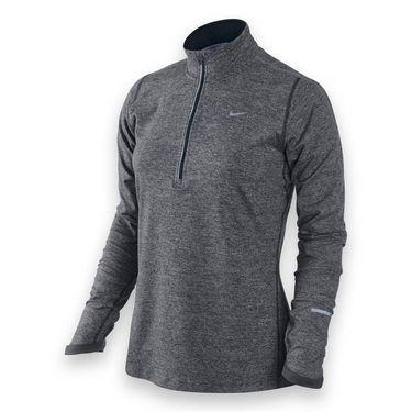 Nike Element 1/2 Zip Top-Dk Grey Heather