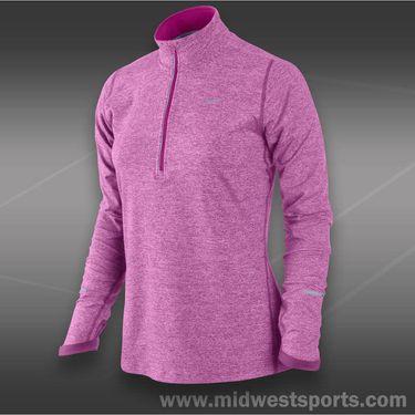 Nike Element 1/2 Zip Top-Red Violet
