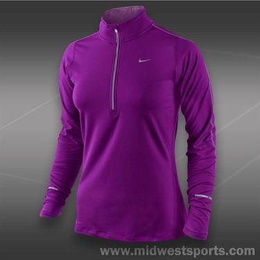 Nike Element 1/2 Zip Top-Bright Grape
