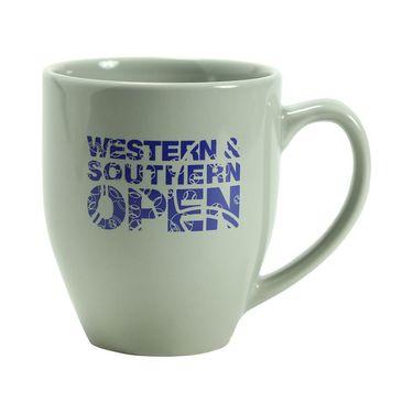 Western & Southern Open Coffee Mug - Grey