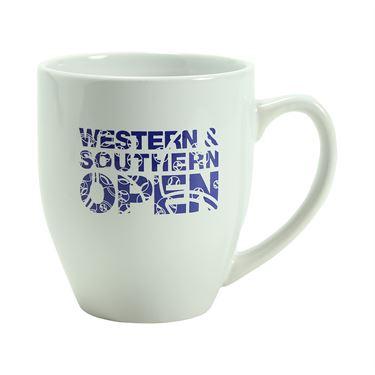 Western and Southern Open Coffee Mug - White