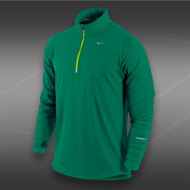 Nike Element 1/2 Zip-Mystic Green