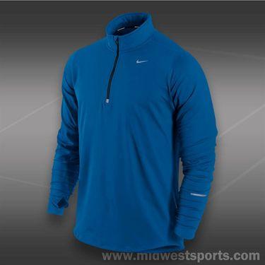 Nike Element 1/2  Zip-Military Blue