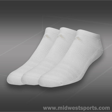 adidas Cushioned 3 Pack No Show Sock