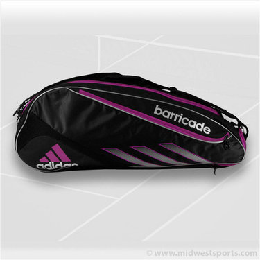 adidas Barricade III Tour 3 Pack Tennis Bag 5126728
