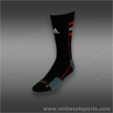 adidas Team Speed Crew Sock Black Red