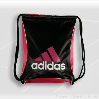 adidas Bolt Sackpack Black/Radiant Pink
