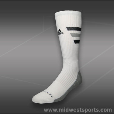 Adidas Team Speed Traxion Crew Sock-White