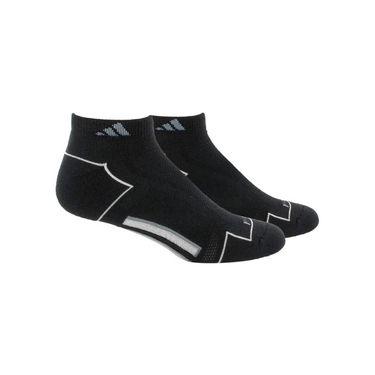 adidas ClimaCool II Low Cut Sock (2 pack) - Black/Medium Lead