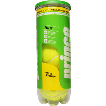 Prince Tour Regular Duty Tennis Balls (Can)