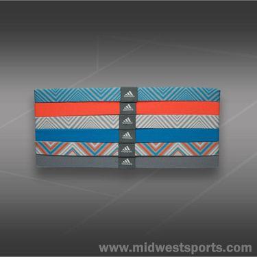 adidas Sidespin Hairband-White/Mid Grey