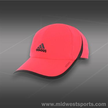 adidas Mens adizero II Hat-Solar Red/Rich Red
