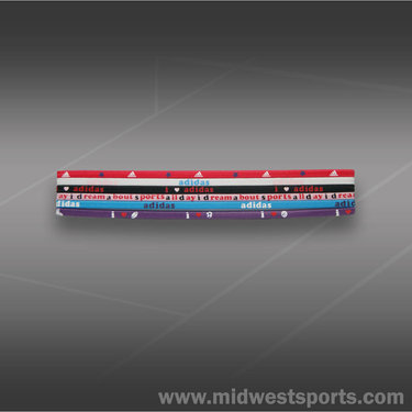 adidas Spirit Hairbands 6 pack
