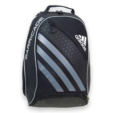 adidas Barricade IV Backpack Tennis Bag - Black/Dark Silver