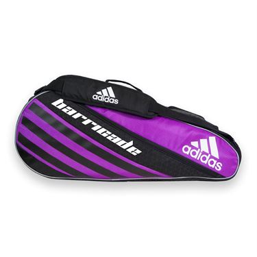 adidas Barricade IV Tour 3 Tennis Bag - Flash Pink/Black