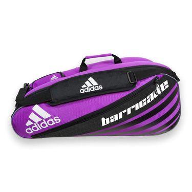 adidas Barricade IV Tour 6 Pack Tennis Bag - Flash Pink/Black