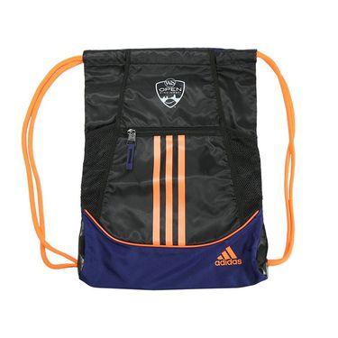 adidas W&S Open Alliance II Sack Pack - Black/Midnight Indigo/Solar Orange
