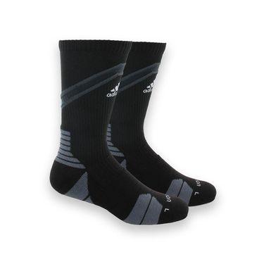 adidas Traxion Impact Crew Sock - Black/White