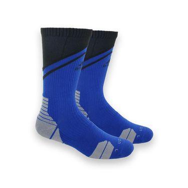 adidas Traxion Impact Crew Sock - Blue/Black
