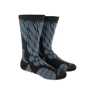 adidas Traxion Impact Shockweb Crew Sock - Black/Light Onix