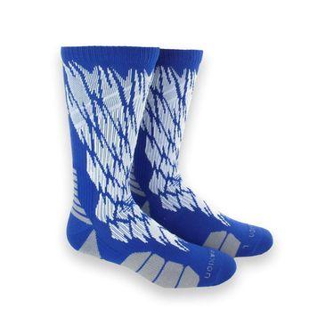 adidas Traxion Impact Shockweb Crew Sock - Bold Blue/White