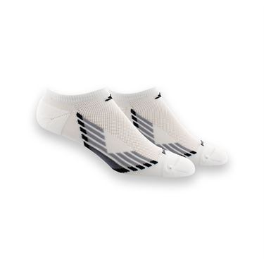 adidas ClimaCool X III No Show 2 Pack Sock - White/Light Onix