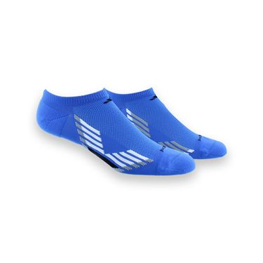 adidas ClimaCool X III No Show 2 Pack Sock - Blue/White