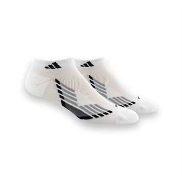 adidas ClimaCool X III Low Cut 2 Pack Sock - White/Light Onix