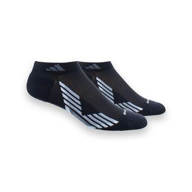 adidas ClimaCool X III Low Cut 2 Pack Sock - Black/Grey
