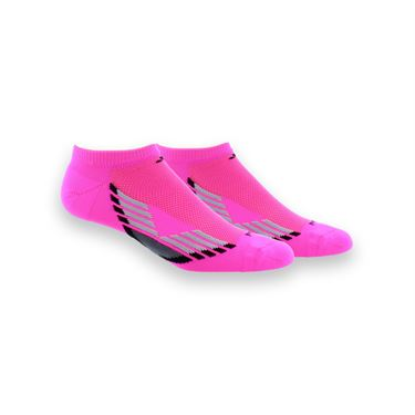 adidas ClimaCool III No Show 2 Pack Sock - Shock Pink/Black