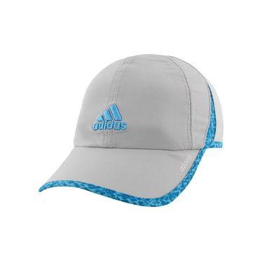 adidas Womens adiZero II Hat - Clear Onix/Bright Cyan