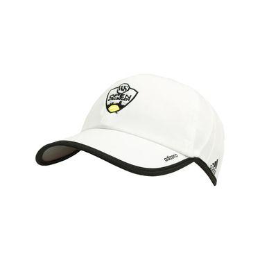 adidas 2016 W&S Logo Adizero II Team Cap - White/Black