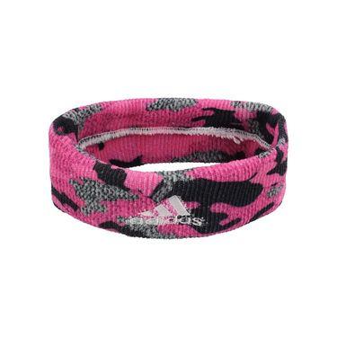 adidas Interval Digital Print Headband - Pink Camo 5141584