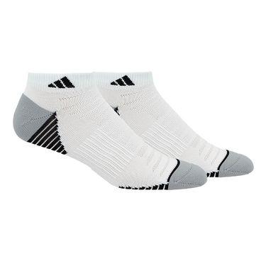 adidas Superlite Speed Mesh Low Cut Sock (2 Pack) -  White/Black