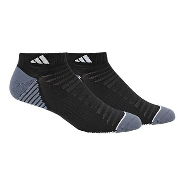 adidas Superlite Speed Mesh Low Cut Sock (2 Pack) -  Black/White