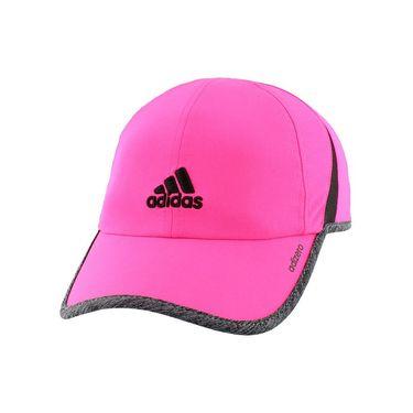 adidas Womens adiZero Hat II - Shock Pink/Dark Grey Heather
