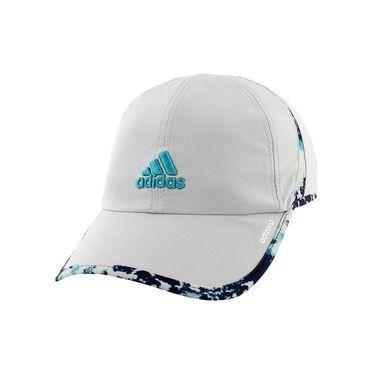 adidas Womens adiZero Hat II - Clear Onix/Oxidized Print