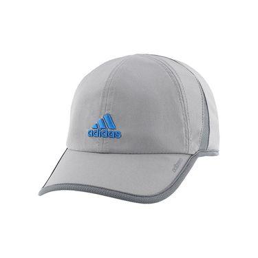 adidas adiZero II Hat - Grey/Onix/Shock Blue