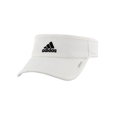 adidas adiZero II Visor - White/Black
