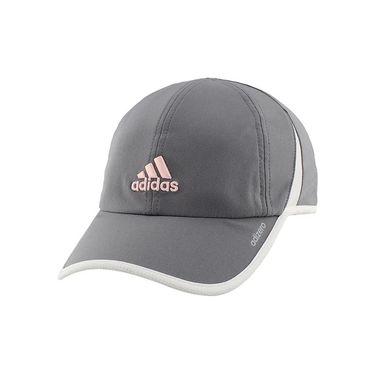 adidas adiZero II Womens Hat - Grey/White/Hawthorne Pink