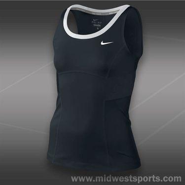 Nike Girls Power Tank-Black