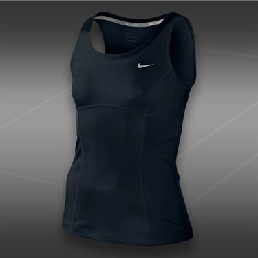 Nike Girls Power Tank-Black