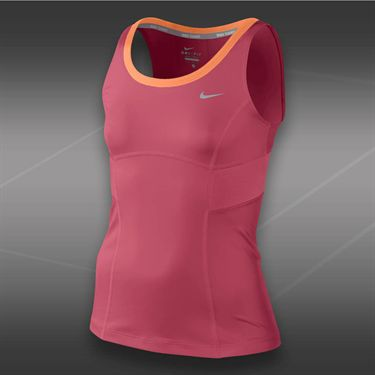 Nike Girls Power Tank-Geranium