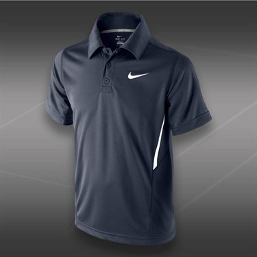 Nike Boys NET UV Short Sleeve Polo